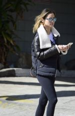 JAMIE CHUNG Out and About in West Hollywood 02/25/2018