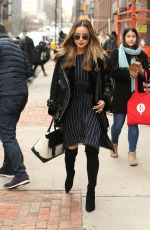 JAMIE CHUNG Out at New York Fashion Week 02/10/2018