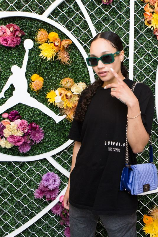 JANAE ROUBLEAU at Revolve x Nike 1s Reimagined Pop-up Event in Los Angeles 02/16/2018