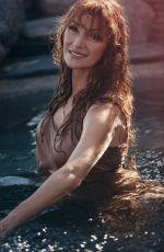 JANE SEYMOUR for Playboy Magazine February 2018