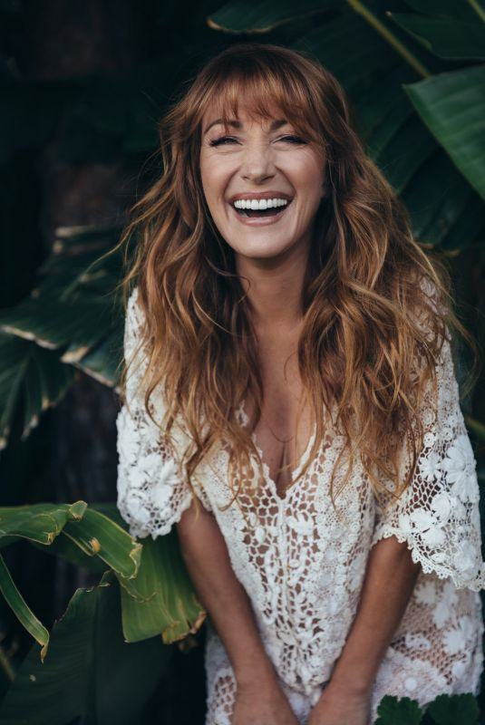 JANE SEYMOUR ny Aaron Feaver Photoshoot, February 2018