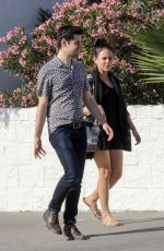 JANEL PARRISH Out for Lunch at Joan