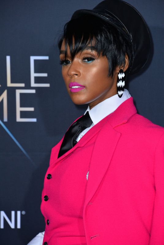JANELLE MONAE at A Wrinkle in Time Premiere in Los Angeles 02/26/2018