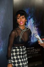JANELLE MONAE at Annihilation Premiere in Los Angeles 02/13/2018