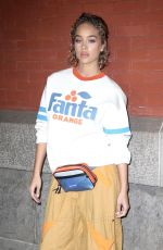 JASMINE SANDERS at Marc Jacobs Fashion Show at NYFW in New York 02/14/2018