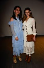 JASMINE THOMPSON at Bora Aksu Show at London Fashion Week 02/16/2018