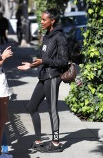 JASMINE TOOKES at Ovy Restaurant in West Hollywood 02/26/2018