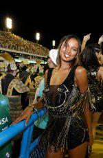 JASMINE TOOKES at Sambadrome Carnaval in Rio De Janeiro 02/12/2018