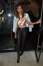 JASMINE TOOKES Leaves Catch LA in West Hollywood 02/06/2018