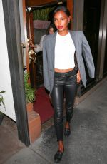 JASMINE TOOKES Leaves Madeo Restaurant in West Hollywood 02/27/2018