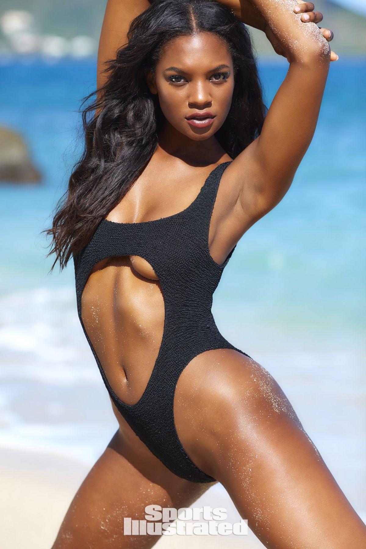 Jasmyn Wilkins In Sports Illustrated Swimsuit 2018 Issue Hawtcelebs