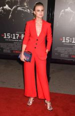 JEANNE GOURSAUD at The 15:17 to Paris Premiere in Los Angeles 02/05/2018