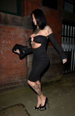 JEMMA LUCY Night Out in Manchester 02/21/2018