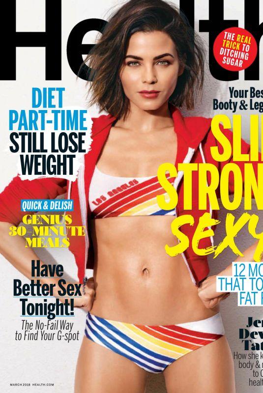 JENNA DEWAN in Health Magazine, March 2018 Issue