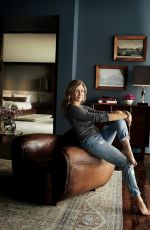 JENNIFER ANISTON in Architectural Digest, March 2018 Issue