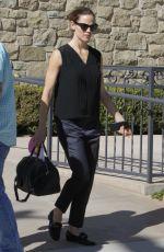 JENNIFER GARNER Arrives at Church in Los Angeles 02/04/2018