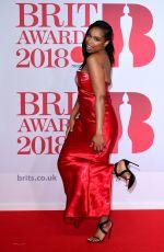 JENNIFER HUDSON at Brit Awards 2018 in London 02/21/2018