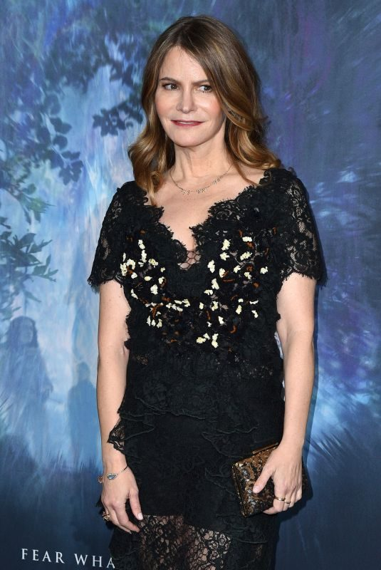 JENNIFER JASON LEIGH at Annihilation Premiere in Los Angeles 02/13/2018