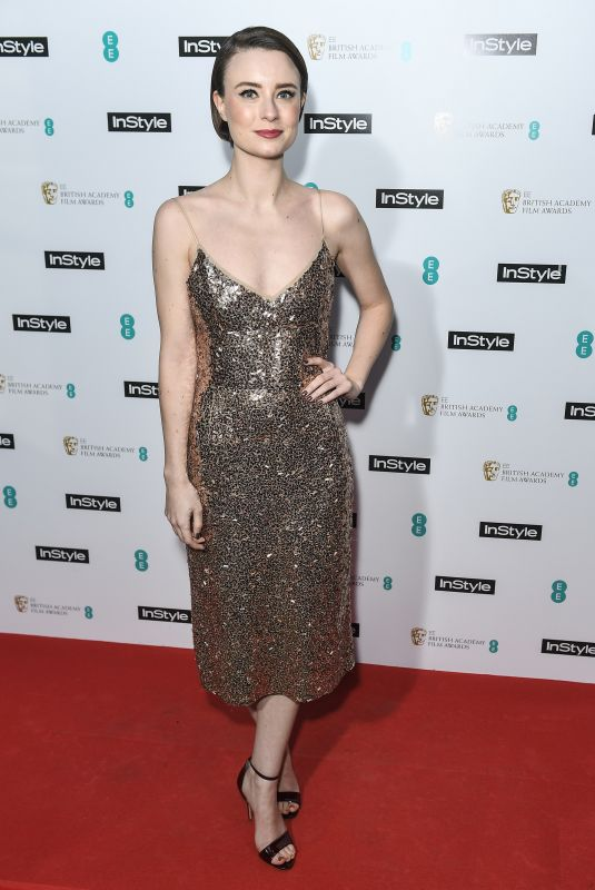 JENNIFER KIRBY at Instyle EE Rising Star Baftas Pre-party in London 02/06/2018