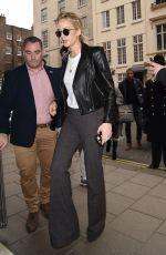 JENNIFER LAWRENCE Arrives at Her Hotel in London 02/21/2018