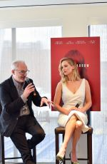 JENNIFER LAWRENCE at Red Sparrow Luncheon at Cafe Milano in Washington 02/16/2018