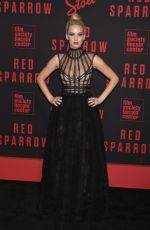 JENNIFER LAWRENCE at Red Sparrow Premiere in New York 02/26/2018