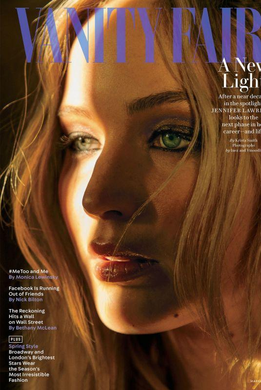 JENNIFER LAWRENCE for Vanity Fair Magazinem March 2018