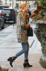 JENNIFER LAWRENCE in Ripped Jeans Out in New York 02/23/2018