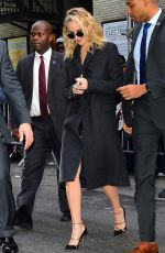 JENNIFER LAWRENCE Leaves Ed Sullivan Theater in New York 02/26/2018