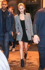 JENNIFER LAWRENCE Leaves Her Hotel in New York 02/23/2018