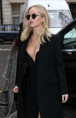 JENNIFER LAWRENCE Out and About in London 02/20/2018