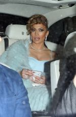 JENNIFER LOPEZ Arrives at a Guess Event in Los Angeles 01/31/2018
