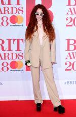 JESS GLYNNE at Brit Awards 2018 in London 02/21/2018