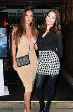 JESS IMPIAZZI Arrive at Rosso Restaurant in Manchester 02/21/2018