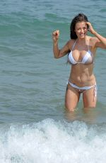 JESS IMPIAZZI on the Beach in Spain 02/19/2018