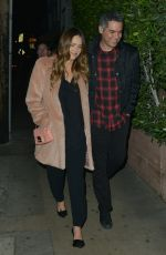 JESSICA ALBA and Cash Warren Out for Dinner in Santa Monica 02/14/2018