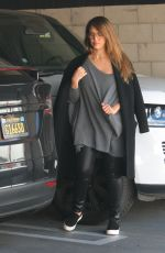 JESSICA ALBA Heading to a Gym in West Hollywood 02/22/2018
