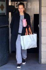 JESSICA ALBA Leaves a Gym in Los Angeles 02/23/2018