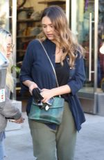 JESSICA ALBA Out for Lunch in Beverly Hills 02/09/2018