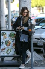 JESSICA ALBA Out in Beverly Hills 02/24/2018