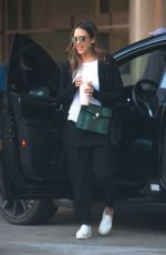JESSICA ALBA Out in Los Angeles 02/05/2018