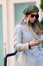 JESSICA BIEL Out and About in New York 02/20/2018