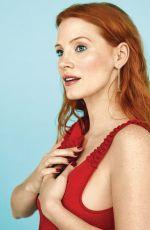 JESSICA CHASTAIN in Io Donna Del Corriere Della Sera, February 2018 Issue