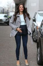 JESSICA CUNNIGHAM Leaves ITV Studios in London 02/22/2018