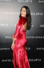 JESSICA GOMES at David Jones Autumn/Winter 2018 Collections Launch in Sydney 02/07/2018
