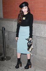 JESSICA JUNG at Marc Jacobs Fashion Show at NYFW in New York 02/14/2018