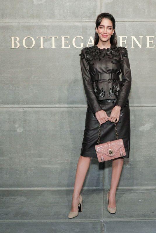 JESSICA KAHAWATY at Bottega Veneta Show at New York Fashion Week 02/09/2018