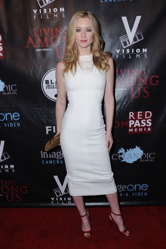 JESSICA MORRIS at Living Among Us Premiere in Los Angeles 02/01/2018