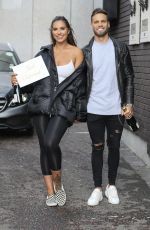 JESSICA SHEARS and Dom Lever Leave ITV Studios in London 02/14/2018