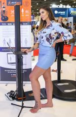 JESSICA SHEARS at Professional Beauty Exhibition in London 02/25/2018